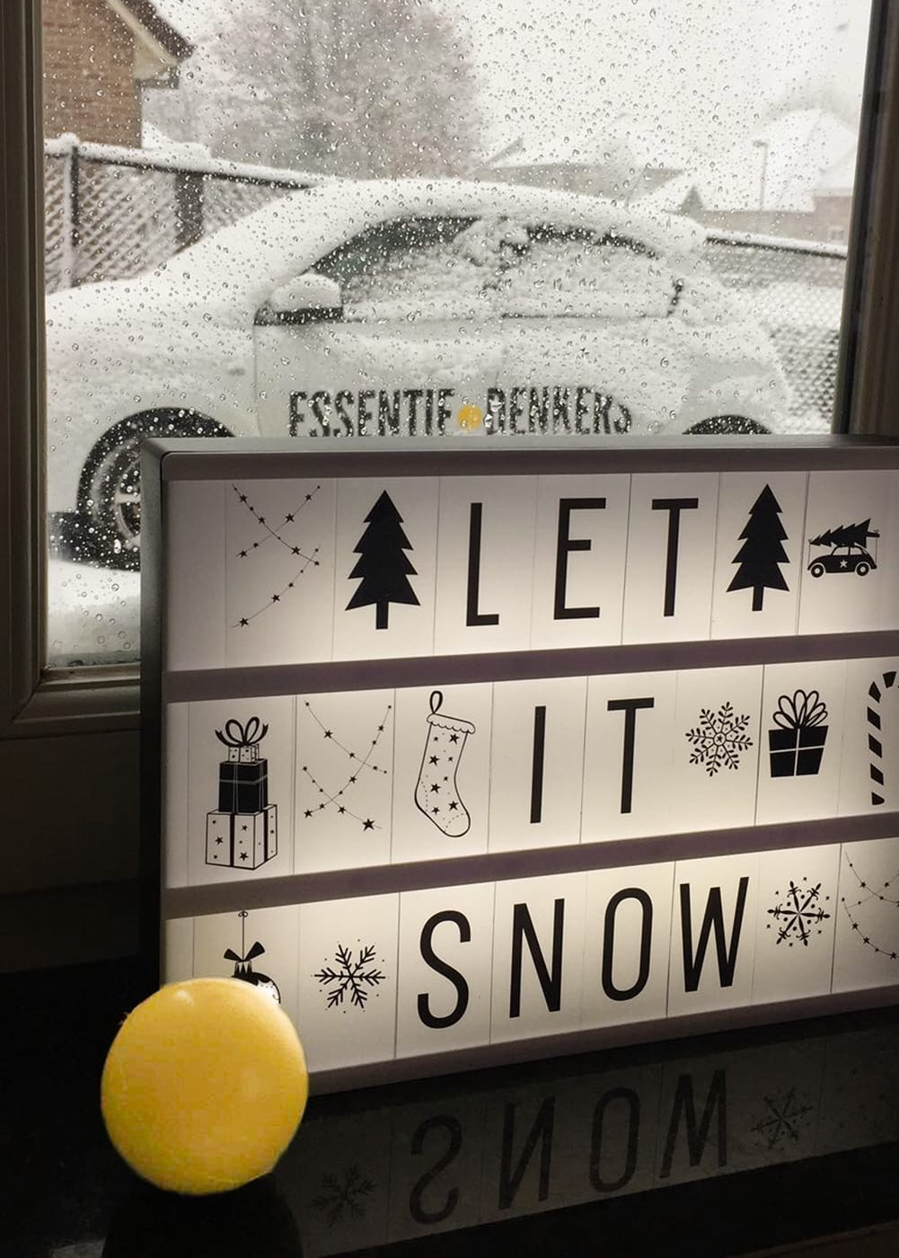 """Featured image for """"Let it snow"""""""