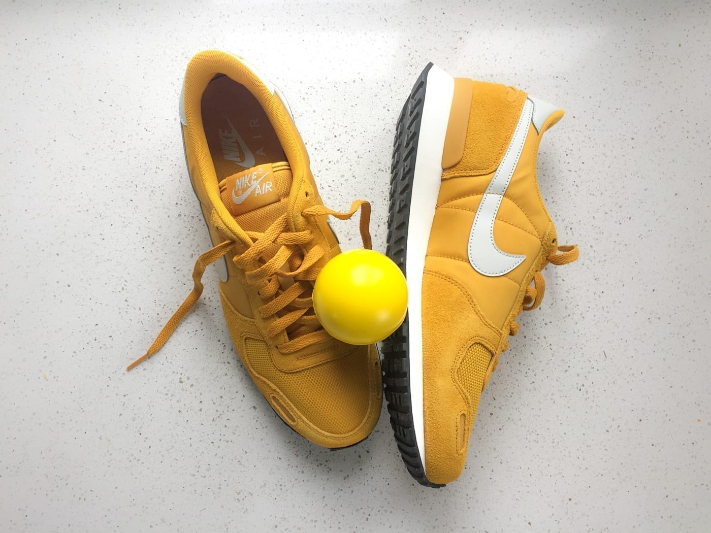 """Featured image for """"Don't step on my new yellow shoes…"""""""