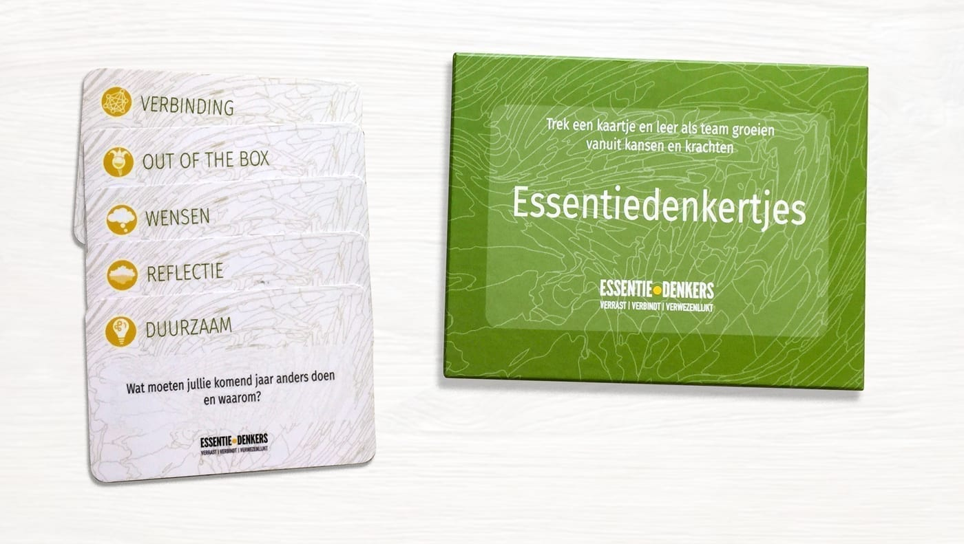 "Featured image for ""Essentiedenkertjes; kaartjes om je team te verbinden"""